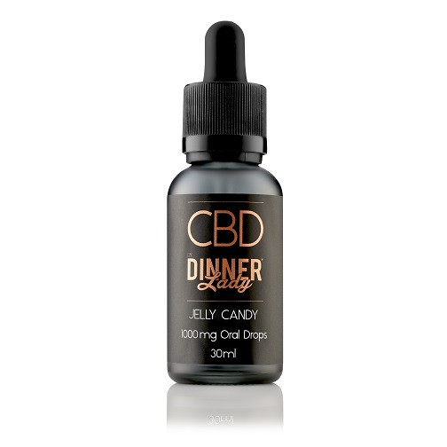 Dinner Lady CBD Jelly Candy Oral Drops 30ml