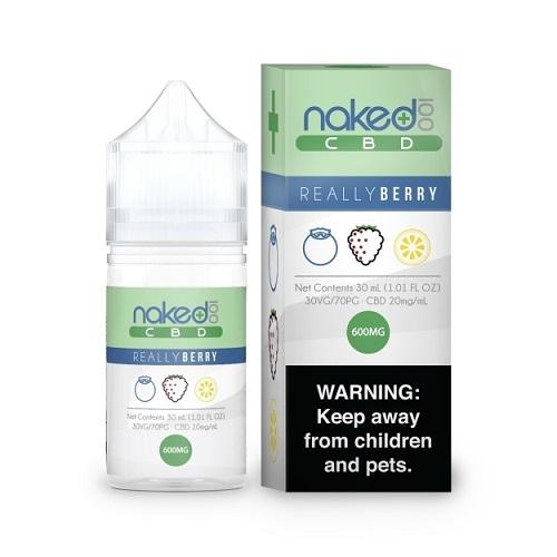 Naked 100 CBD Amazing Mango Vape Liquid 30ml