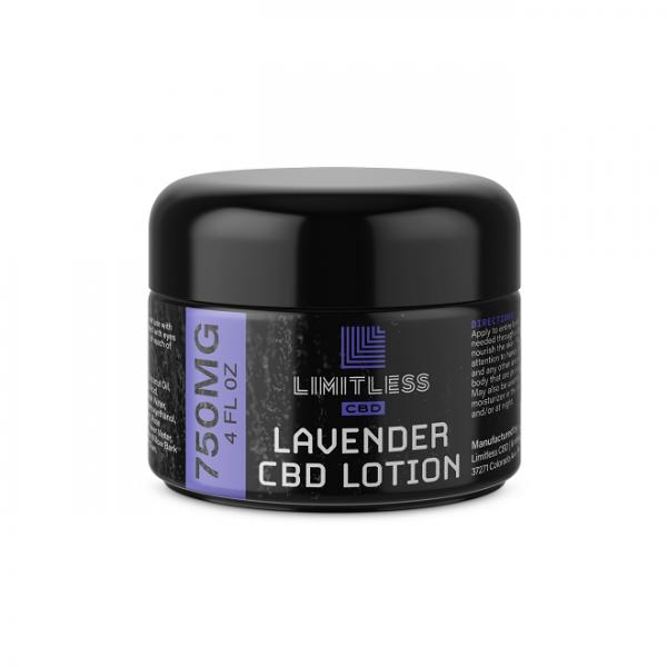 Limitless CBD Revive Lotion Lavender 750mg
