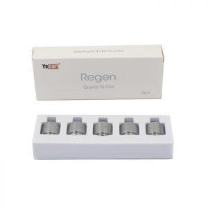 Yocan Regen Quartz Triple Coils, 5 pack