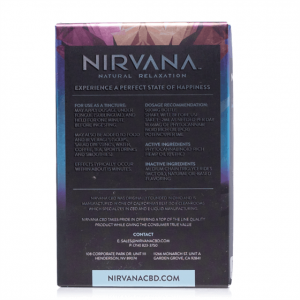 Nirvana Broad Spectrum Peppermint CBD Tincture 30mL