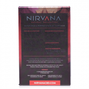 Nirvana Broad Spectrum Strawberry CBD Tincture 30mL