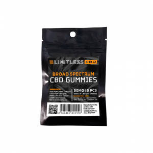 Limitless CBD Infused Gummies 50mg