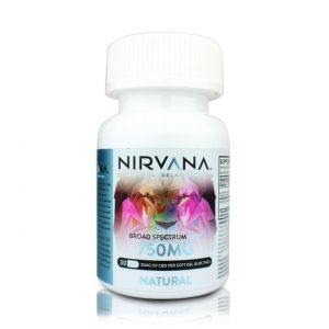 Nirvana Natural CBD Gel Capsules-750mg