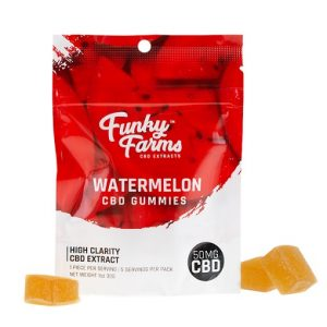 Funky Farms Watermelon CBD Gummies 50MG