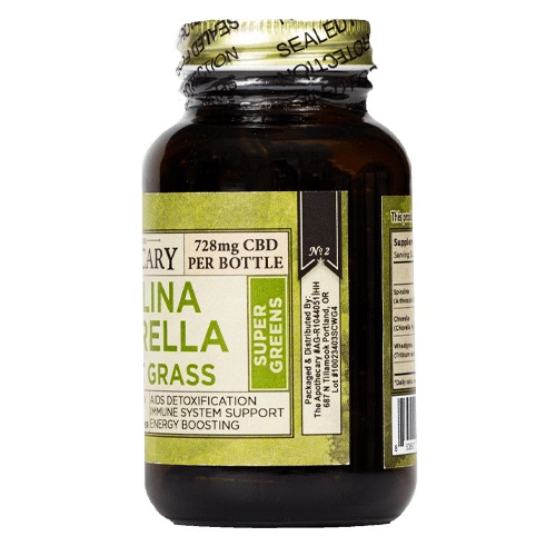 The Brothers Apothecary Super Greens CBD Capsules