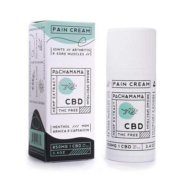 Pachamama Broad Spectrum CBD Pain Cream
