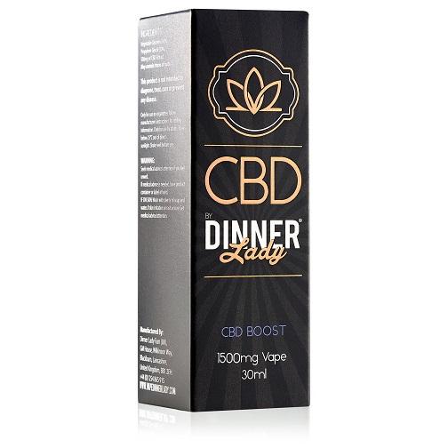 Dinner Lady CBD CBD Boost Vape Liquid 1500mg