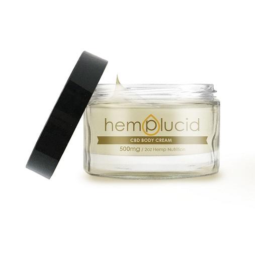 Hemplucid Full Spectrum CBD Body Cream 500mg