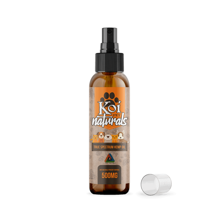 Koi Naturals Hemp Extract CBD Pet Spray 500mg