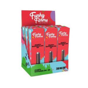 Funky Farms Full Spectrum CBD Forsty Watermeion OG CBD Vape Cartridge 350mg