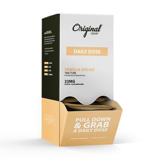 Original Hemp Daily Dose 33MG CBD Tincture