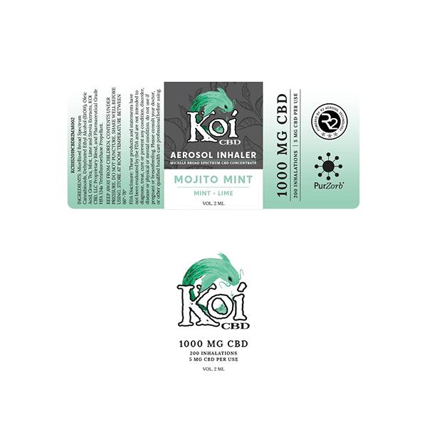 Koi Hemp Extract CBD Inhaler 1000MG