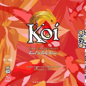 Koi Hemp Extract CBD Lotion 125mL