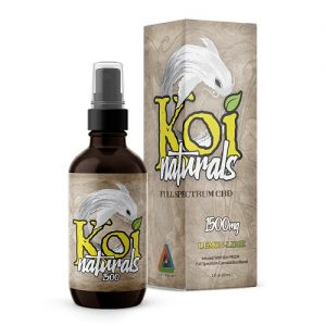Koi Naturals Lemonlime Full Spectrum Hemp Extract CBD Oil Tincture 150mg