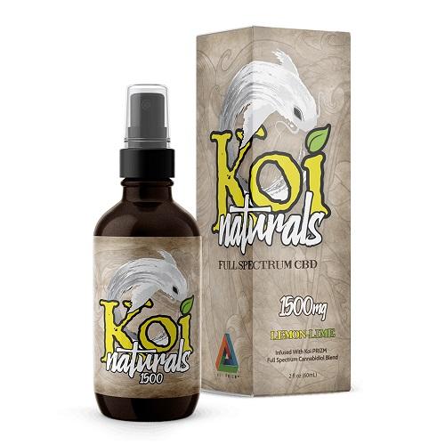 Koi Naturals Lemonlime Full Spectrum Hemp Extract CBD Oil Tincture 150mg
