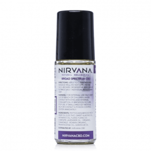 Nirvana Broad Spectrum CBD Oil Roll-On