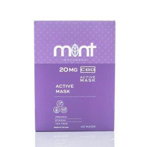Mint wellness CBD Active mask