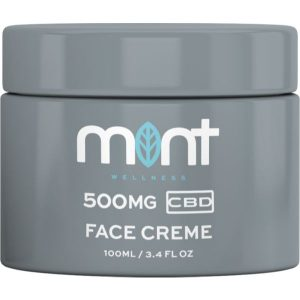 Mint wellness CBD Face Cream 500mg