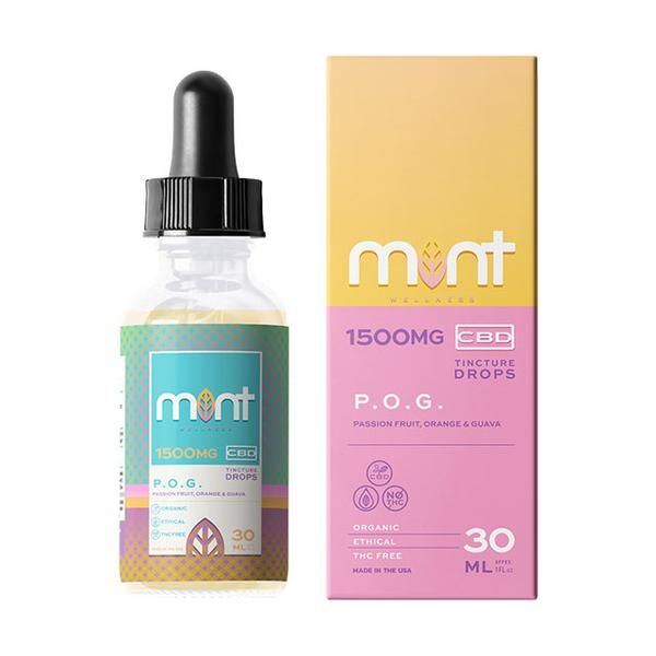 Mint wellness CBD POG Tincture 30ml