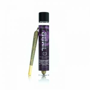TIMBR Sour Space Candy CBD Hemp Flower Pre-Roll 1g