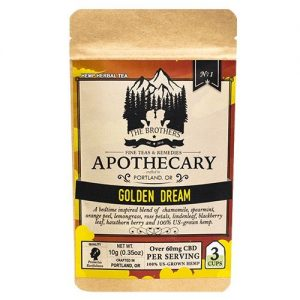 The Brothers Apothecary Golden Dream Hemp CBD Tea