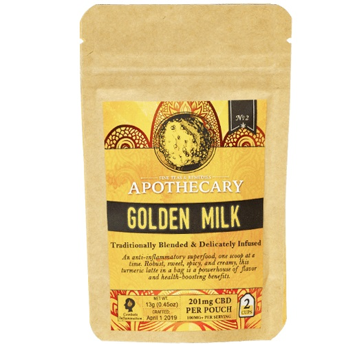 The Brothers Apothecary Golden Milk Hemp CBD Turmeric Latte