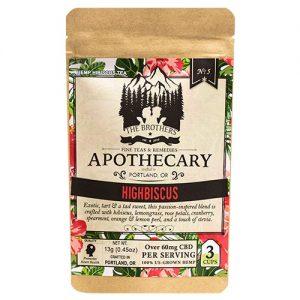 The Brothers Apothecary Highbiscus Hemp CBD Tea - 1 Pack
