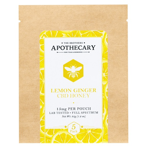 The Brothers Apothecary Lemon Ginger CBD Honey