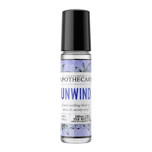 The Brothers Apothecary Unwind CBD Essential Oil Roller