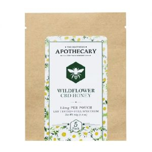 The Brothers Apothecary Organic Wildflower CBD Honey