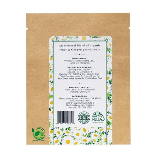 The Brothers Apothecary Organic Wildflower CBD Honey