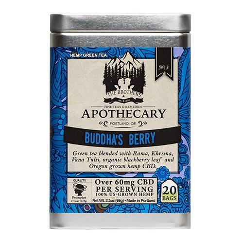 The Brothers Apothecary Buddha's Berry Hemp CBD Tea