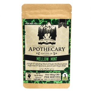 The Brothers Apothecary Mellow Mint Hemp CBD Tea