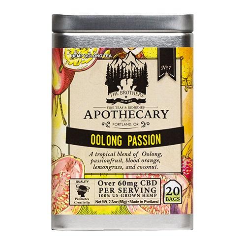 The Brothers Apothecary Oolong Passion Hemp CBD Tea