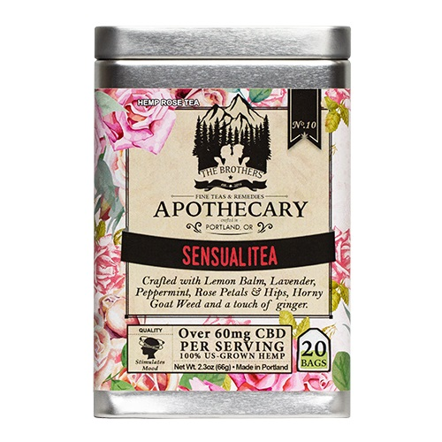 The Brothers Apothecary Sensualitea Hemp CBD Tea